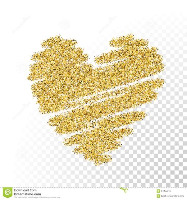vector-gold-glitter-particles-heart-texture-spray-shape-transparent-background-64255046